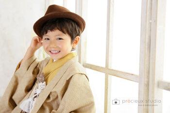 七五三フォトギャラリー 3歳男の子着物