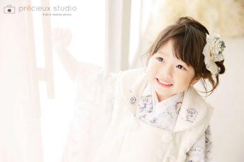 七五三フォトギャラリー 3歳女の子ジルスチュアート着物
