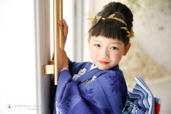 七五三フォトギャラリー7歳女の子ナチュラルビューティー着物