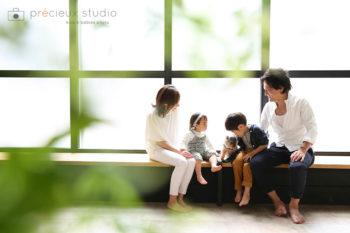 ハウススタジオでペット写真 ヨークシャーテリア プレシュスタジオ撮影写真