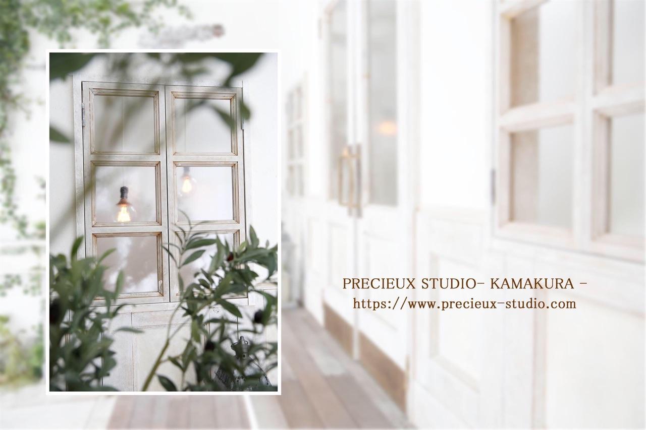 プレシュスタジオ鎌倉八幡宮前店の撮影セット内装