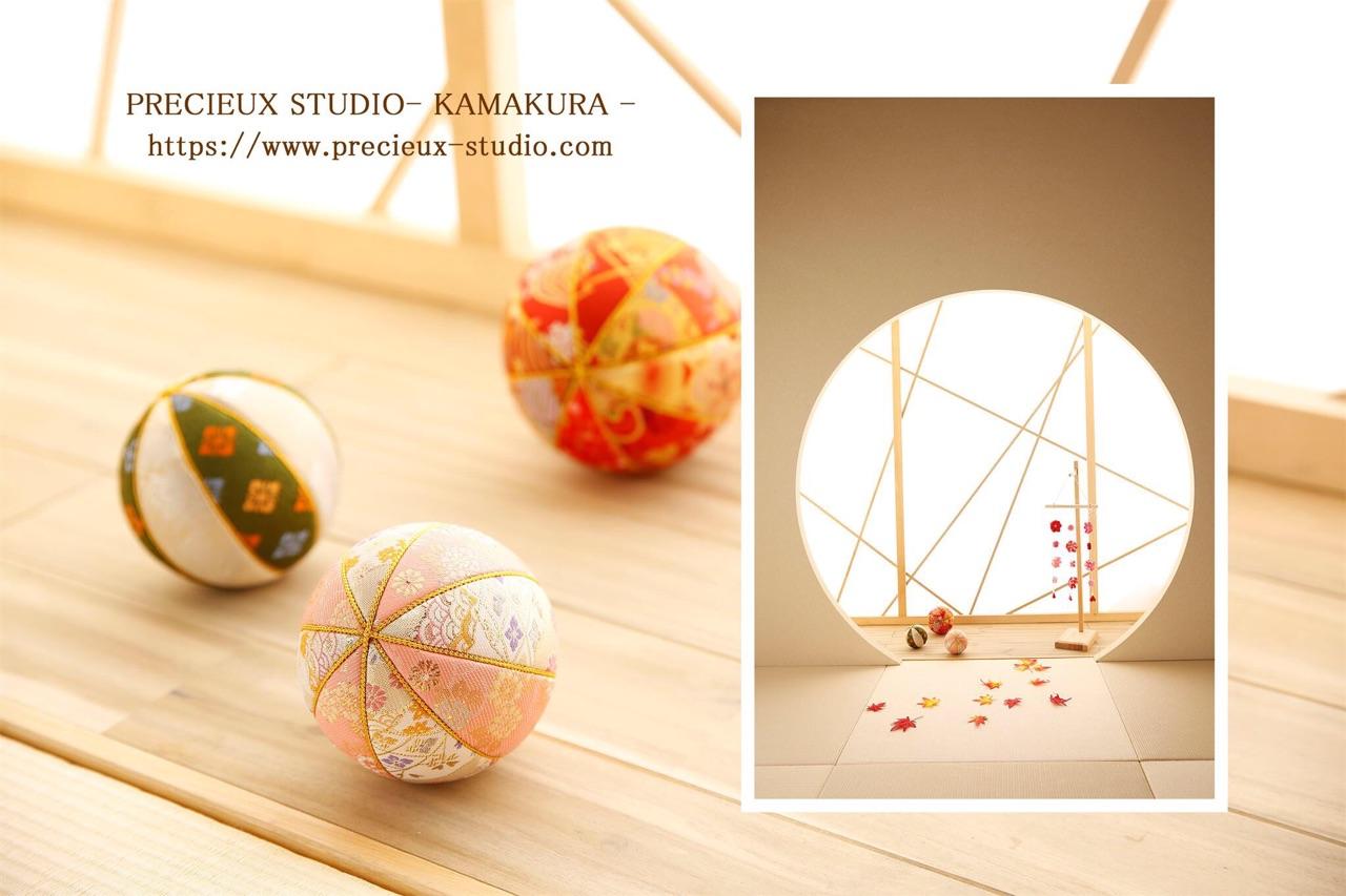 プレシュスタジオ鎌倉八幡宮前店の撮影セット内装 和室