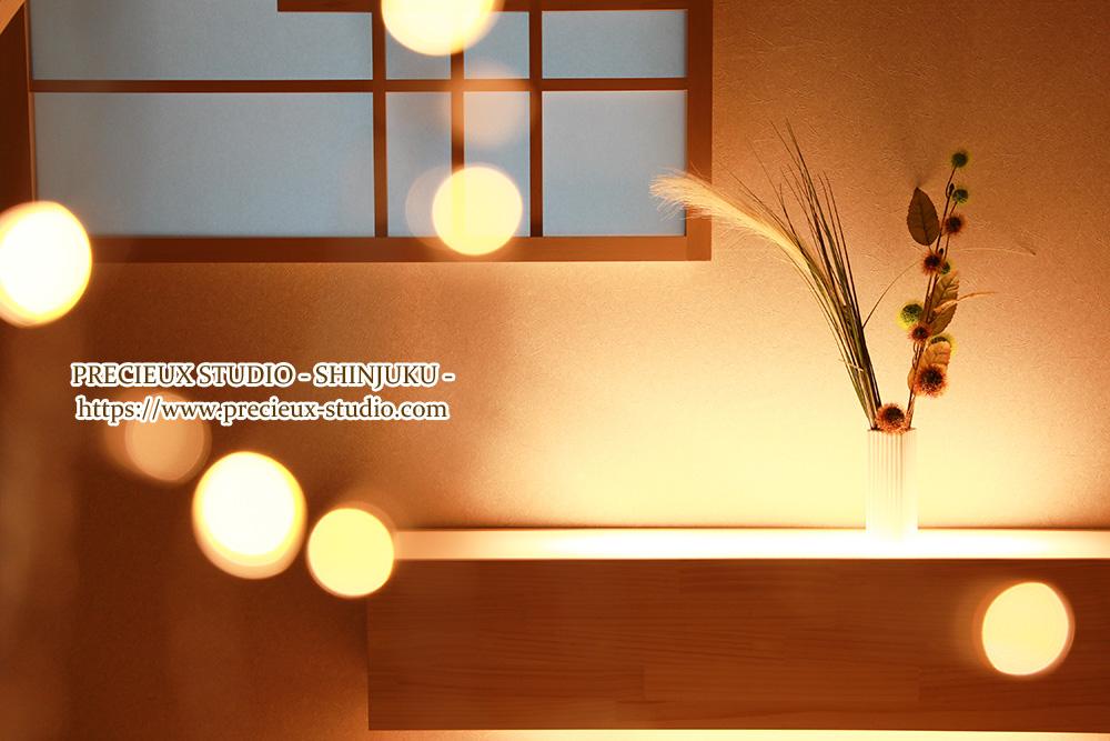 プレシュスタジオ新宿曙橋店の撮影セット内装 和室