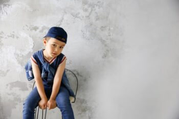 プレシュスタジオ豊洲店フォトギャラリー4 洋装でお誕生日の記念写真撮影