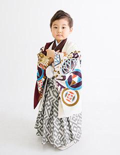 豊洲男の子3歳着物