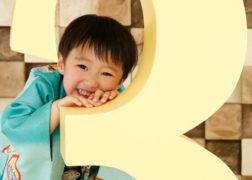 3歳の七五三記念写真