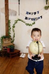 バースデーフォト お誕生日の記念写真