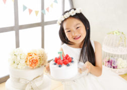 7歳のお誕生日記念写真