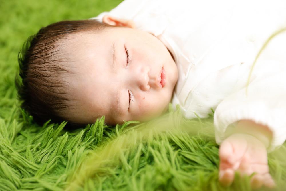 お宮参りの赤ちゃんフォト
