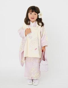 プレシュスタジオ七五三着物レンタル ジルスチュアート 3歳被布