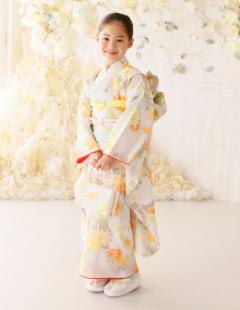 プレシュスタジオ七五三着物レンタル 7歳和服