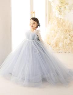 プレシュスタジオ レンタルドレス 水色