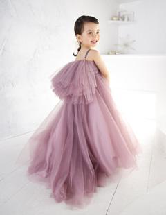 プレシュスタジオ レンタルドレス 紫