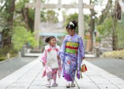 神社で出張撮影 姉妹で七五三詣り