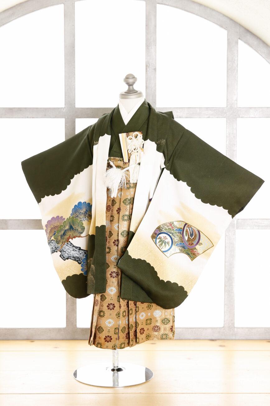 西宮夙川3歳男の子着物