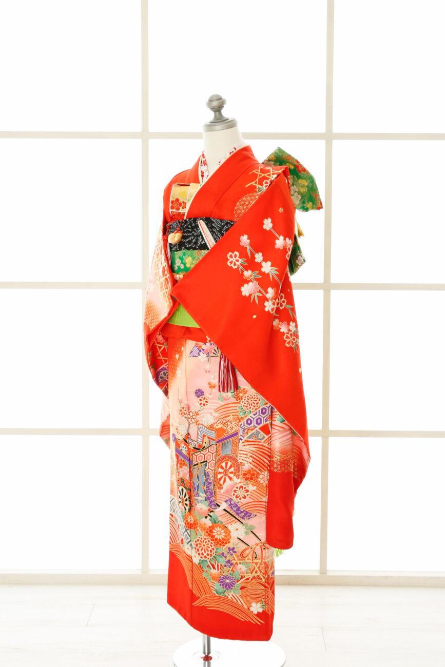 西宮夙川7歳女の子着物