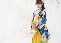 ハーフ成人式レンタル着物 10歳の祝い用袴 プレシュスタジオ豊洲店