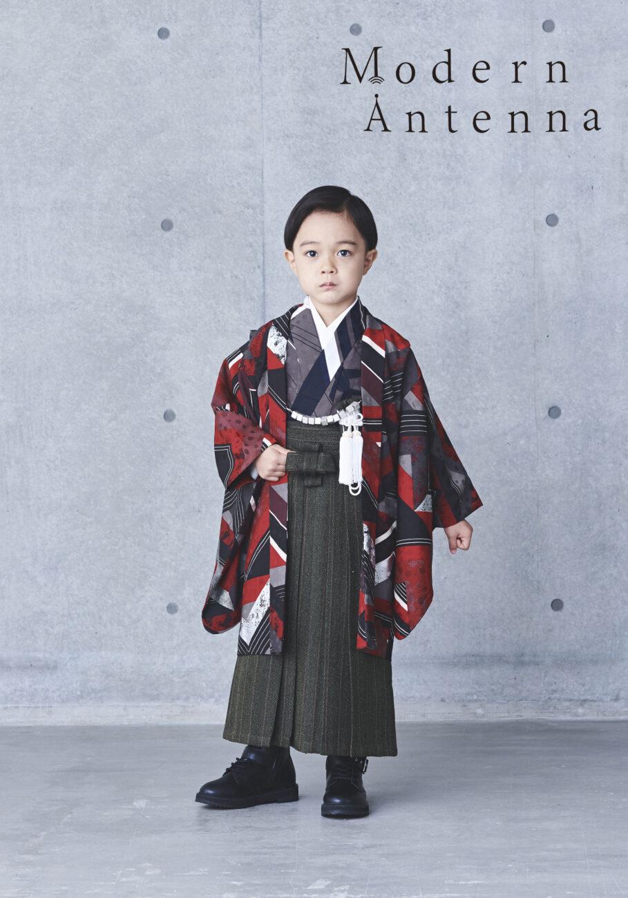 プレシュスタジオ西宮夙川店 5歳男の子着物