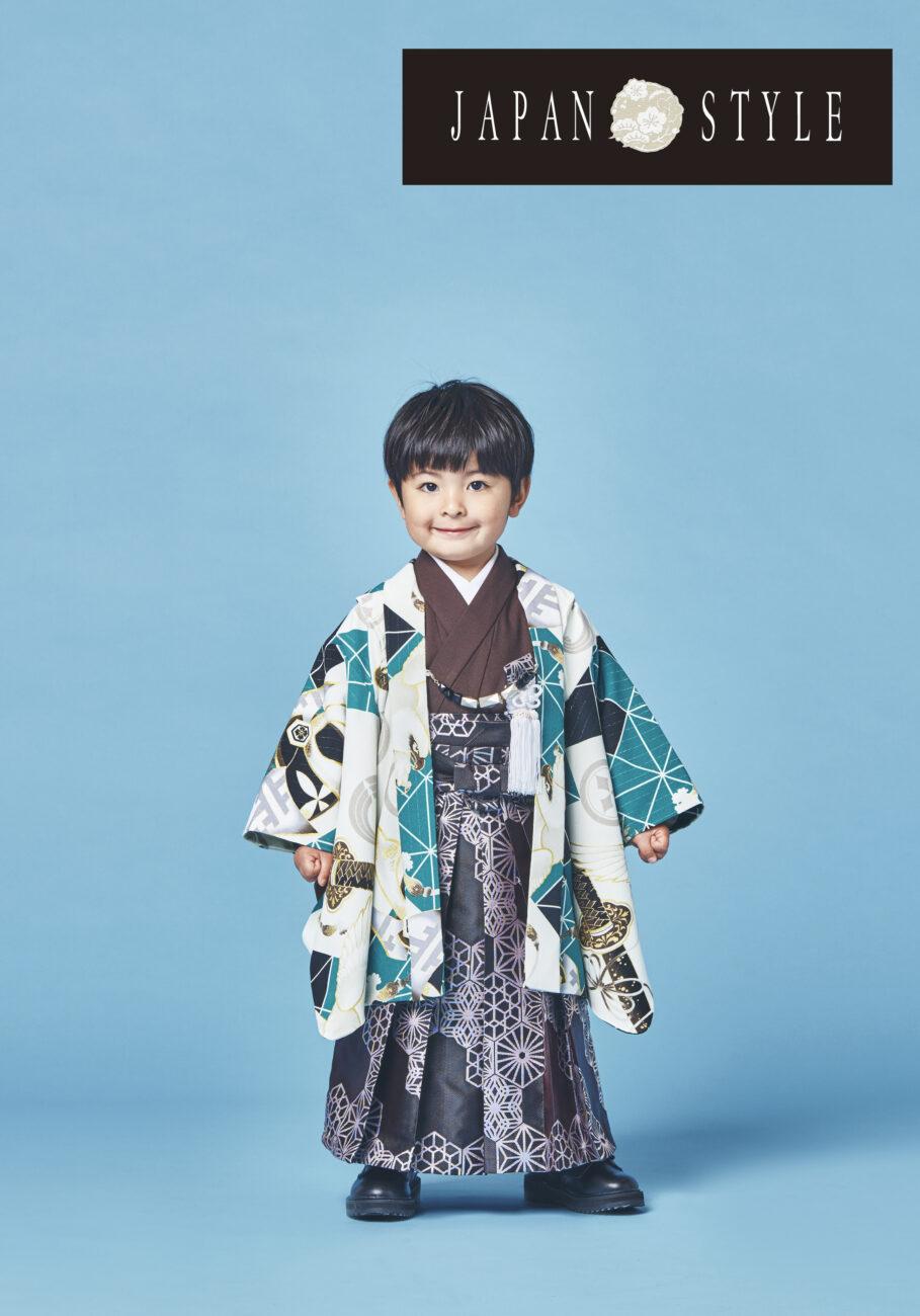 プレシュスタジオ西宮夙川店 3歳男の子着物
