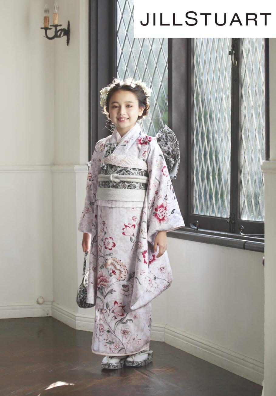 プレシュスタジオ西宮夙川店 ジルスチュアート7歳着物